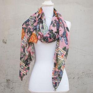 Zara | Floral & Paisley Patterned Scarf